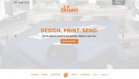 Shirmo Website